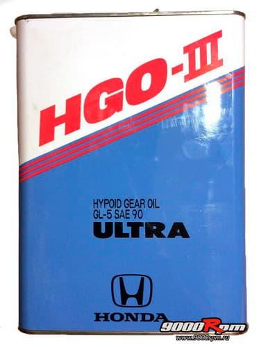 Масло для переднего редуктора Honda_Japan_HGO-III