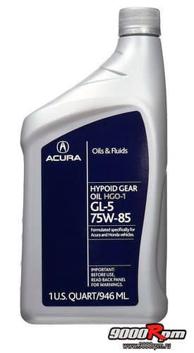 Масло для переднего редуктора Acura_HGO-1 08200-9014A