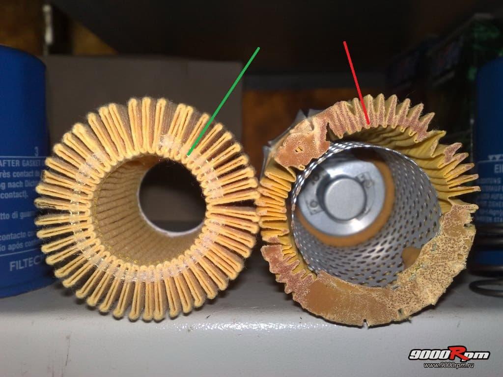 подделка 15400-PLC-004 образца 2004г