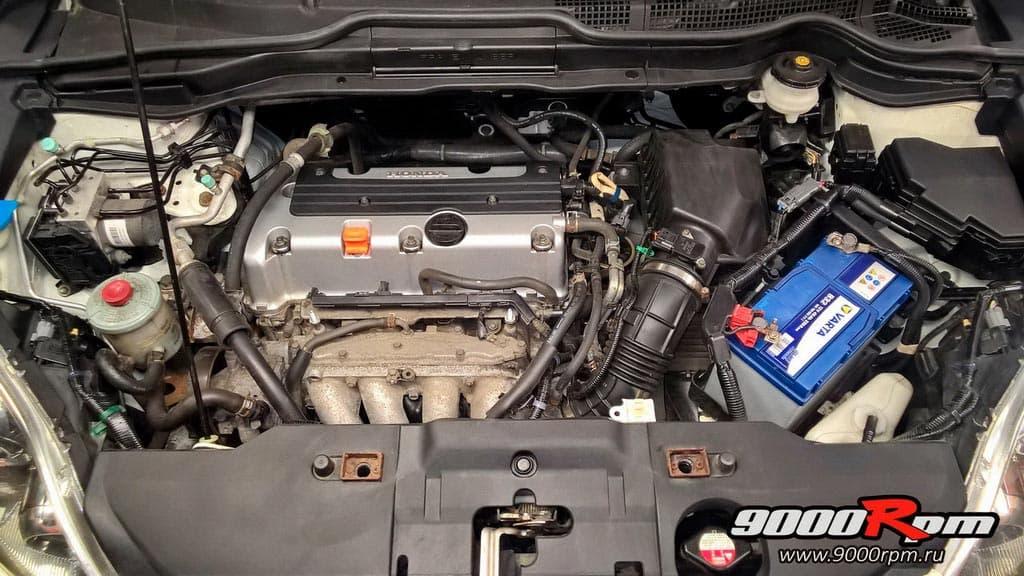 Подкапотное Хонда СРВ 3