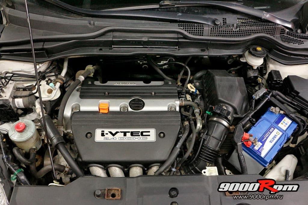 Моторный отсек Хонда СРВ 3 2,4 АТ