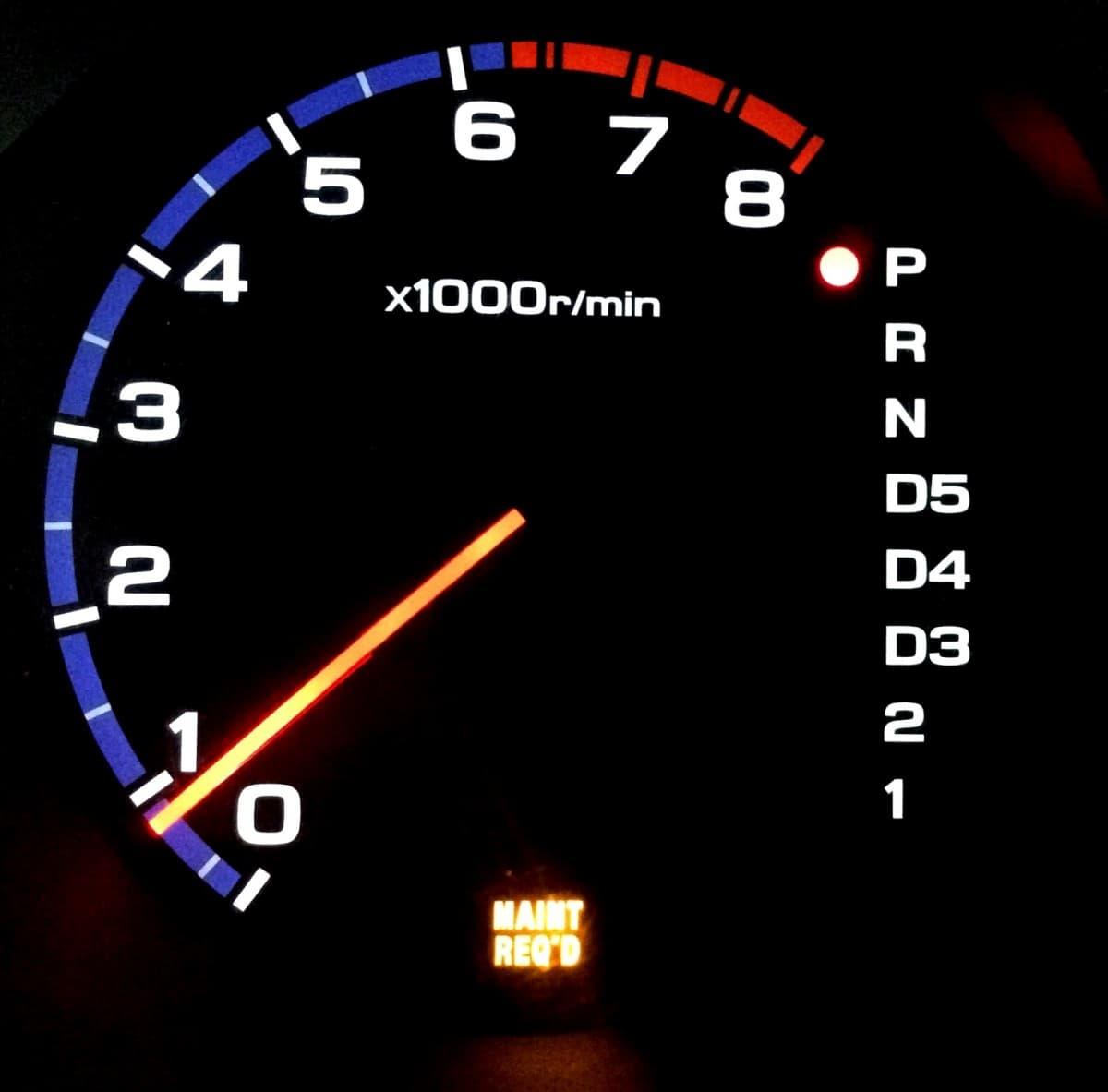 MAINT REQD на Acura MDX 04-06